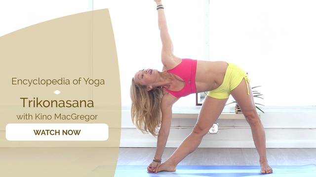 thumbnail image for Trikonasana - Triangle Pose
