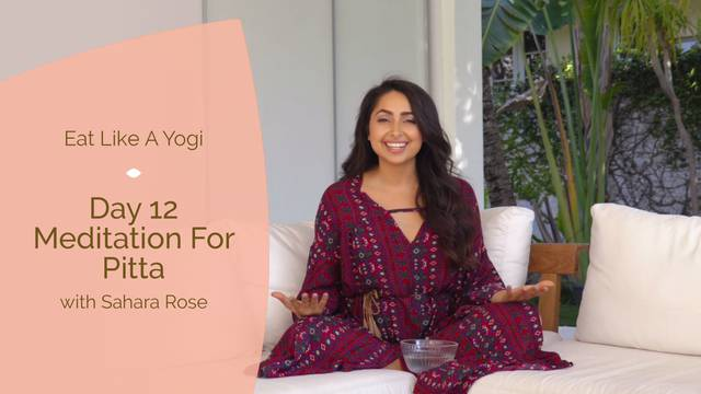 thumbnail image for Day 12: Meditation for Pitta