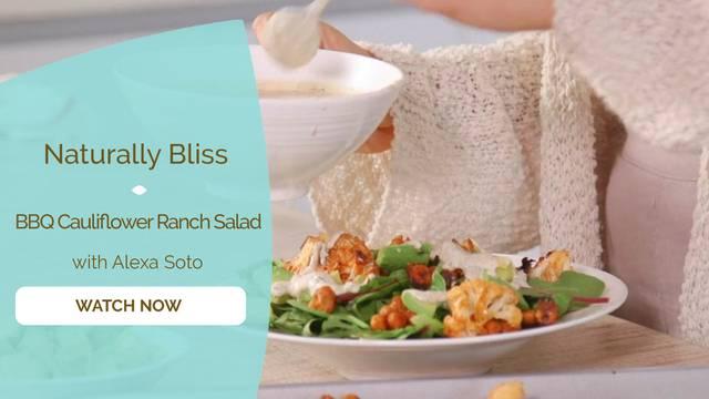 thumbnail image for BBQ Cauliflower Ranch Salad