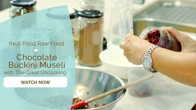 thumbnail image for Chocolate Buckini Museli