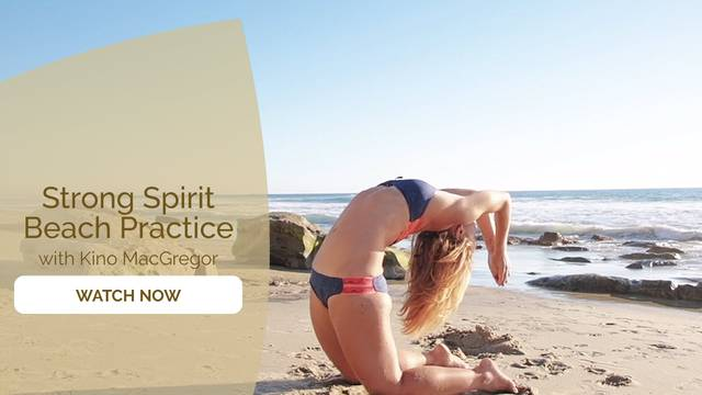 thumbnail image for Strong Spirit Beach Practice with Kino