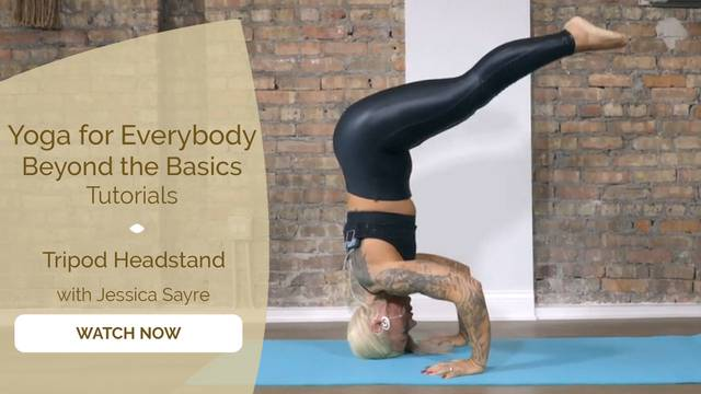 thumbnail image for Tripod headstand with Jessica Sayre