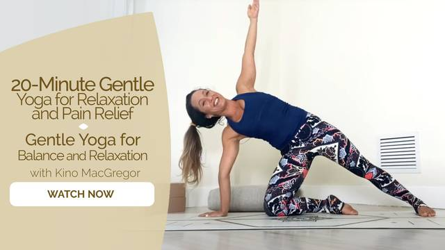 thumbnail image for Gentle Yoga for Balance and Relaxation