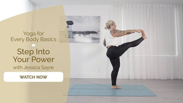 thumbnail image for Day 4 – Full Body with Jessica Sayre: Step Into Your Power