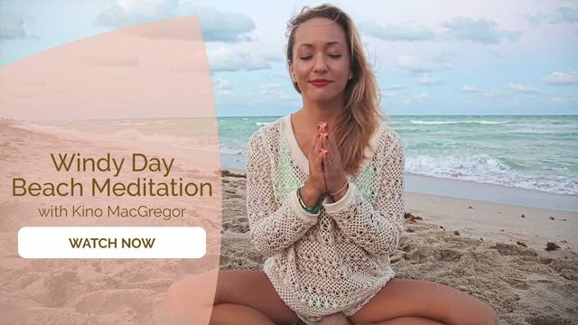 thumbnail image for Windy Day Beach Meditation