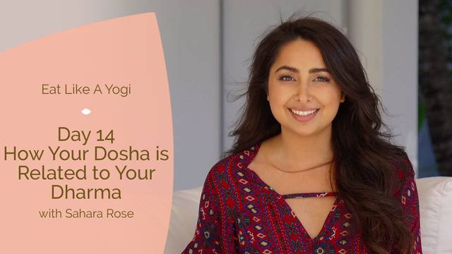 thumbnail image for Day 14: How your Dosha is Related to your Dharma (Life Purpose)