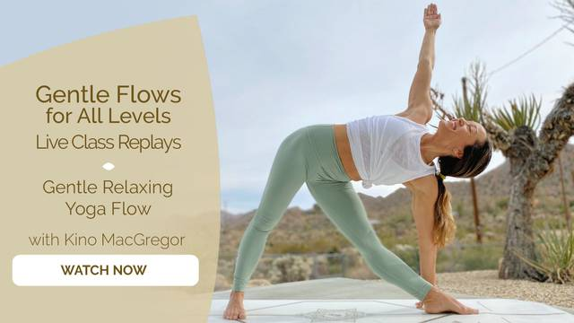 thumbnail image for Gentle Relaxing Yoga Flow