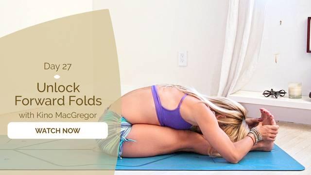 thumbnail image for Day 27: Unlock Forward Folds