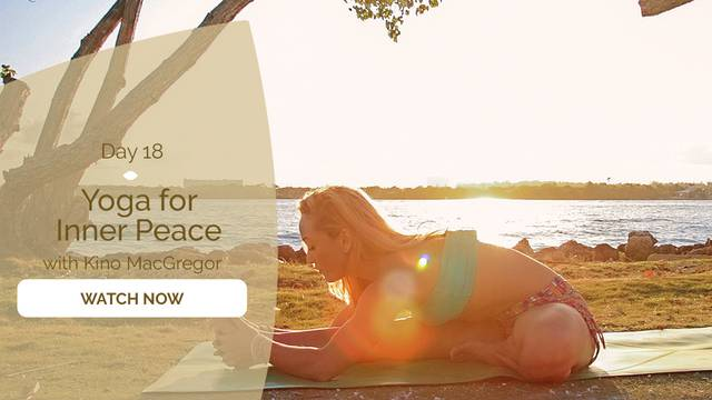 thumbnail image for Day 18: Yoga for Inner Peace