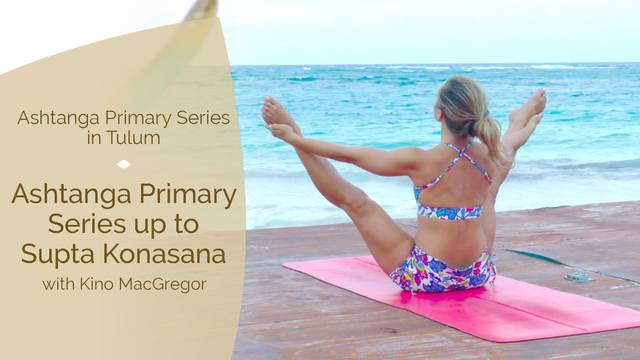 thumbnail image for Ashtanga Primary Series up to Supta Konasana