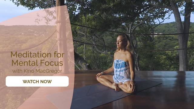 thumbnail image for Day 11 Meditation: Mental Focus with Kino MacGregor