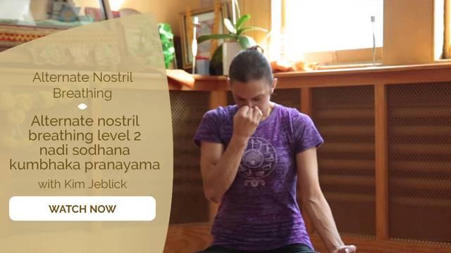 thumbnail image for Alternate Nostril Breathing Level 2 – Nadi Sodhana Kumbhaka Pranayama