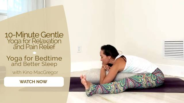 thumbnail image for Yoga for Bedtime and Better Sleep