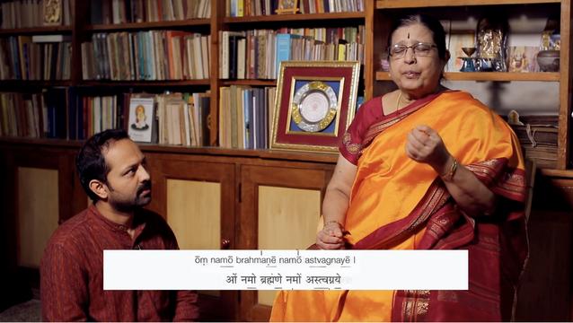 thumbnail image for 'Om Namo Brahmane' Call and Response