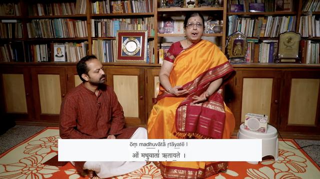 thumbnail image for 'Om Madhu Vata Ritayate' Call and Response