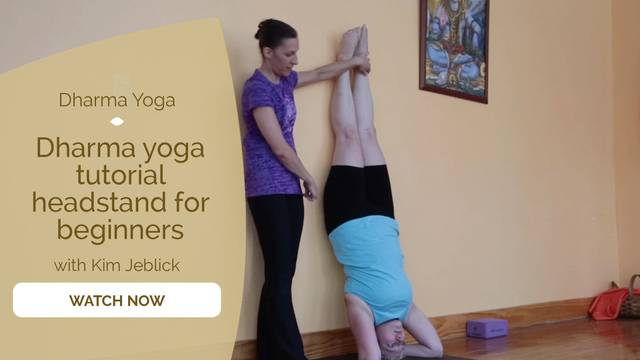 thumbnail image for Dharma Yoga Tutorial: Headstand for Beginners