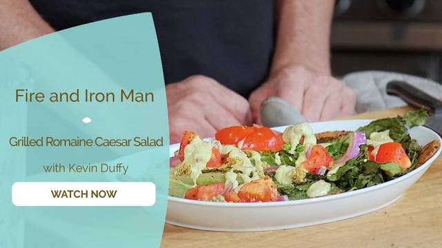 thumbnail image for Grilled Romaine Caesar Salad