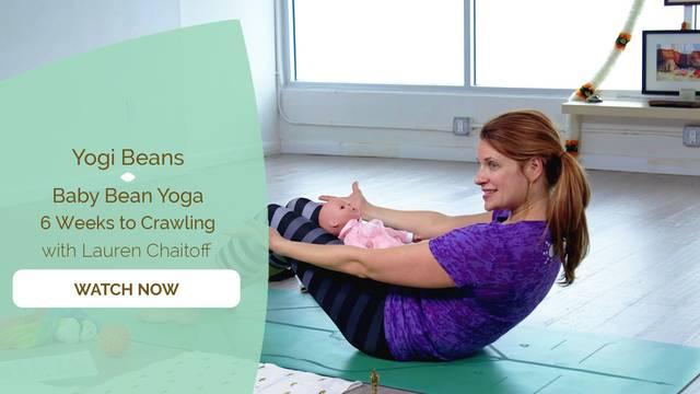 thumbnail image for Baby Bean Yoga