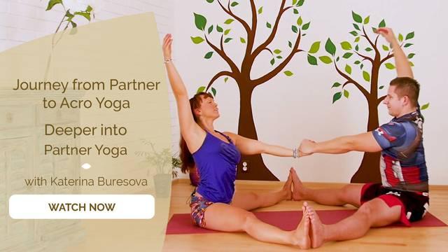 thumbnail image for Deeper into Partner Yoga