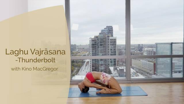 thumbnail image for Vajrasana - Thunderbolt Pose with Kino