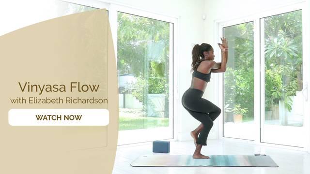 thumbnail image for Vinyasa Yoga and Breathing with Elizabeth Richardson