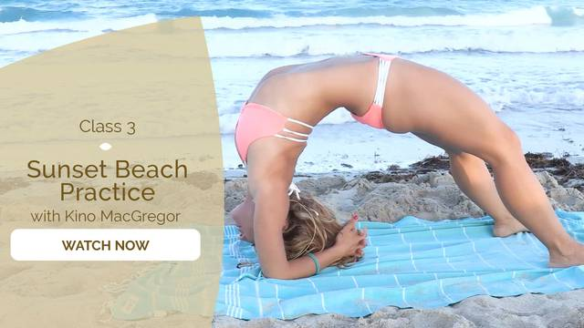 thumbnail image for Sunset Beach Practice for Backbending