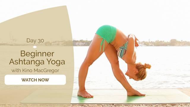 thumbnail image for Day 30: Beginner Ashtanga Yoga
