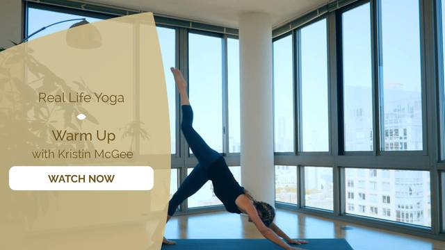 thumbnail image for Day 3 – Core with Kristin McGee: Warm Up