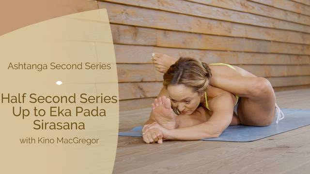 thumbnail image for Half Second Series — Up to Eka Pada Sirasana