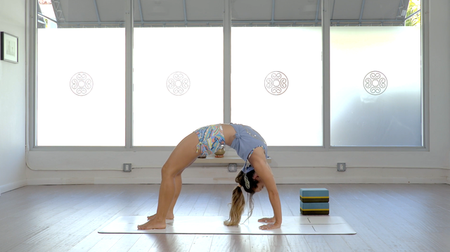 thumbnail image for Take The Fear Out Of Back Bends- Urdhva Dhanurasana