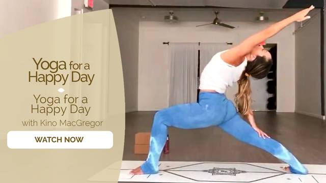 thumbnail image for Yoga for a Happy Day