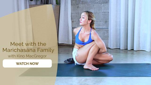 thumbnail image for Day 11 - Ashtanga Primary Series Episode 10 – Marichasana Family