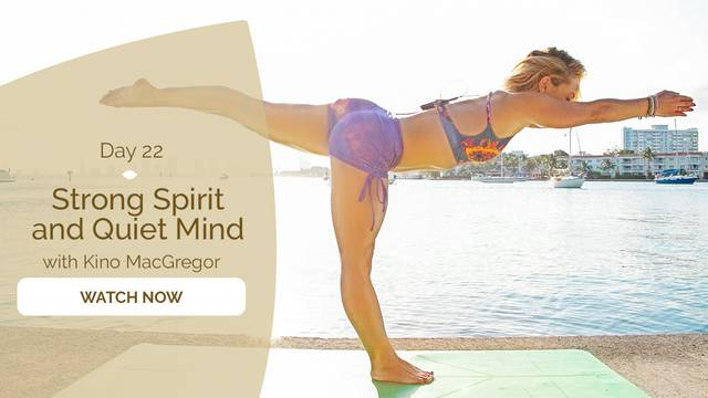 thumbnail image for Day 22: Strong Spirit, Quiet Mind