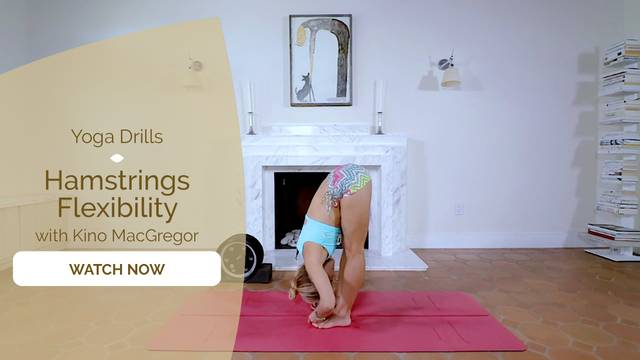 thumbnail image for Day 2 - Yoga Drills Episode 4 – Hamstring Flexibility