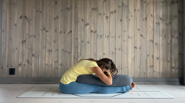 thumbnail image for Yoga for Relaxation and Stress Relief — Yin Hip Stretch