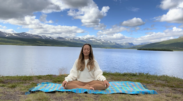 thumbnail image for Yoga and Meditation for Relaxation and Stress Relief — Gentle Yin for Inner Peace
