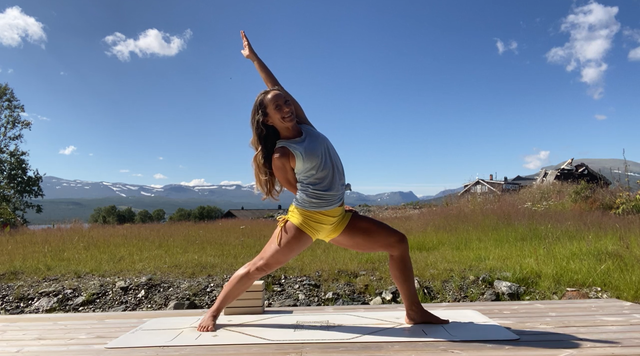 thumbnail image for Balanced Full Body Flow — Yoga for Strength and Flexibility