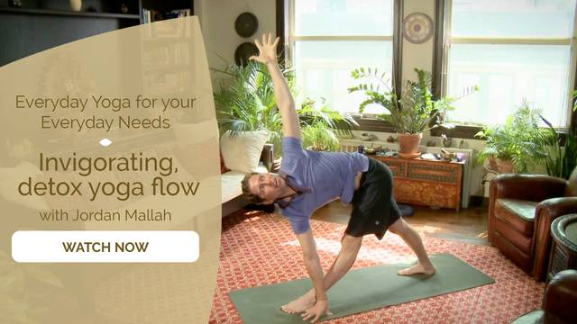 thumbnail image for Invigorating, Detox Yoga Flow