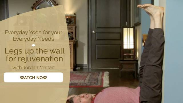 thumbnail image for Legs Up the Wall for Rejuvenation