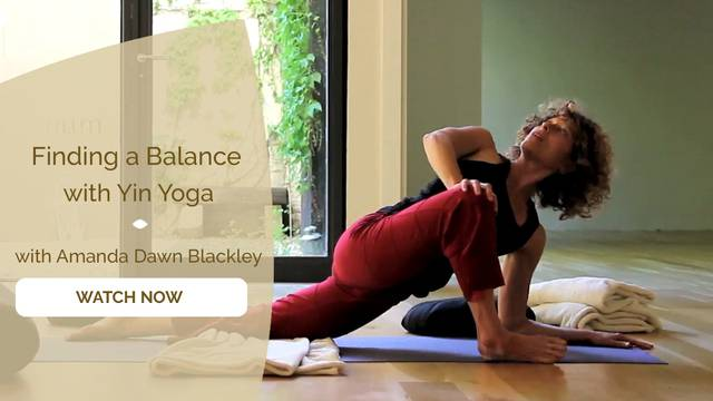 thumbnail image for Finding a Balance with Yin Yoga
