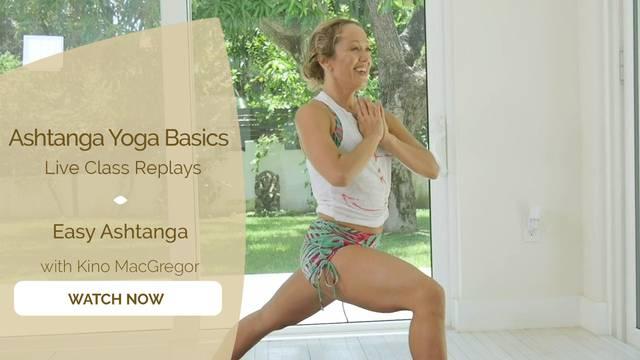 thumbnail image for Easy Ashtanga with Kino MacGregor