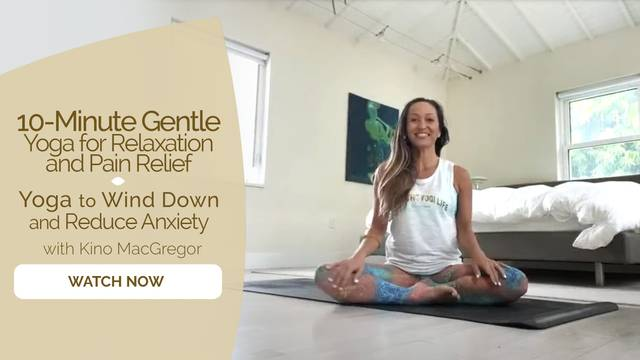 thumbnail image for Yoga to Wind Down and Reduce Anxiety
