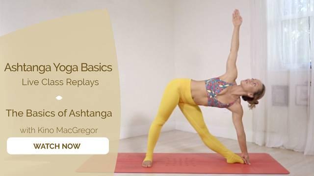 thumbnail image for The Basics of Ashtanga with Kino MacGregor
