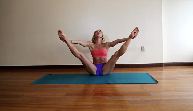 thumbnail image for Flexibility Splits & Straddles: Straddle Class with Kino