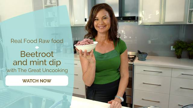 thumbnail image for Beetroot and Mint Dip