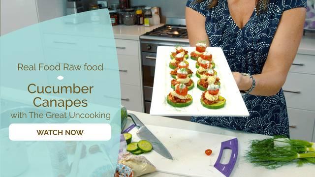thumbnail image for Cucumber Canapés