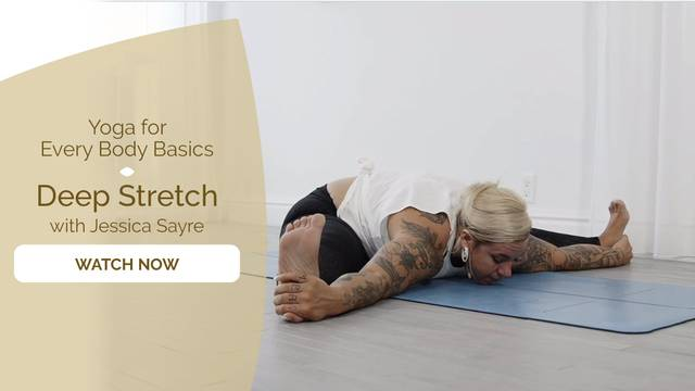 thumbnail image for Day 2 Yin: Deep Stretch with Jessica Sayre