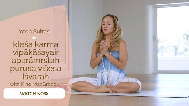 thumbnail image for I.24 kleśa karma vipākāśayair aparāmrstah purusa višesa Īśvarah