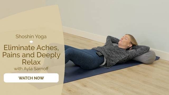 thumbnail image for Eliminate Aches, Pains and Deeply Relax