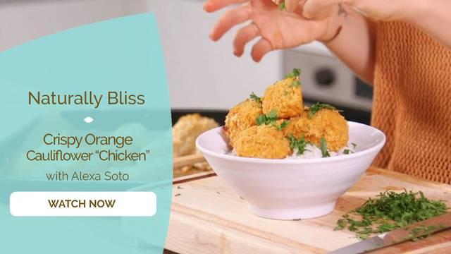 "thumbnail image for Crispy Orange Cauliflower ""Chicken"""